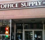 office supply store closing
