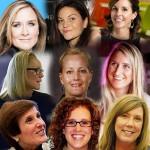 women top 9 marketeers 2015