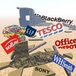 Brands bombed 2011