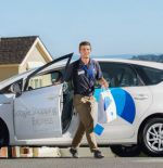 google express man delivery