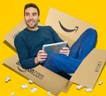amazon user in box
