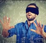 spray n pray blindfolded man