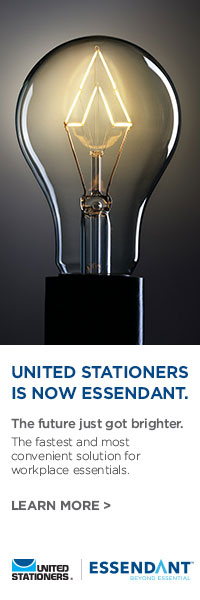 United Stationers are now Essendant